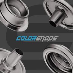 Spring Press Fastener • Metal Snap • Press Popper • Leather Snaps